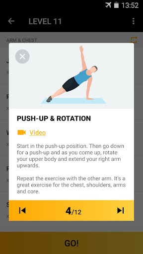 Home Workout for Men - Bodybuilding 1.0.15 screenshots 4