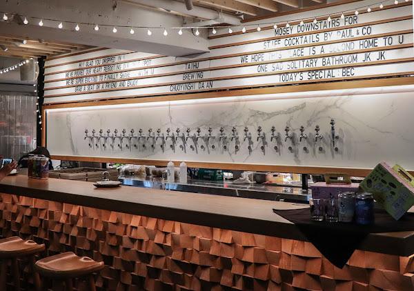 沒有招牌人潮天天爆滿的台北精釀啤酒吧-啜飲室大安