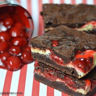 Black Forest Cheesecake Brownies.