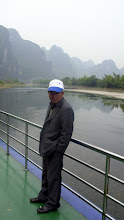 Photo: He stood in the same place the whole boat ride