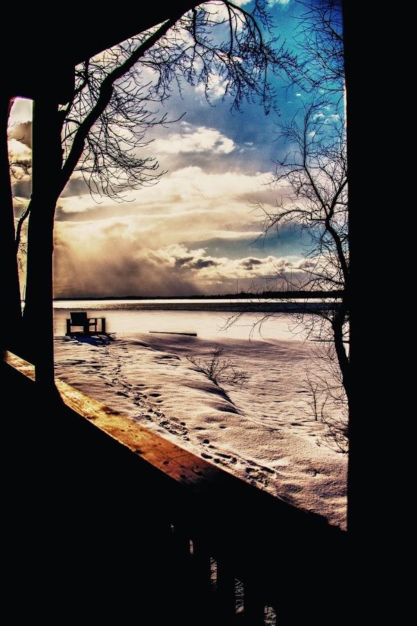 Footprints by Kaye D - Novices Only Landscapes