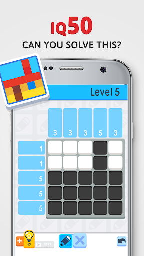 Nonogram - Logic Pic Puzzle - Picture Cross 3.9 screenshots 1