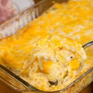 Cheesy Hash Brown Casserole.