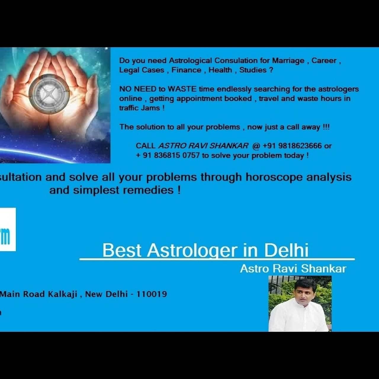 Astrologer in Delhi (Nakshatra 13) - Astrologer in New Delhi