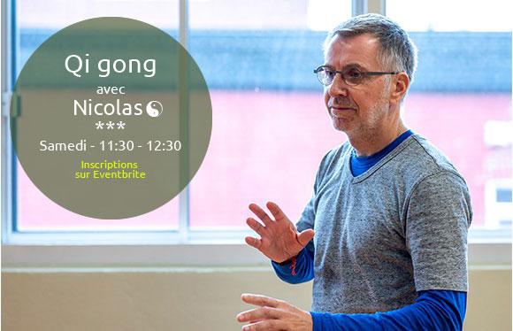 cours Qi gong samedi