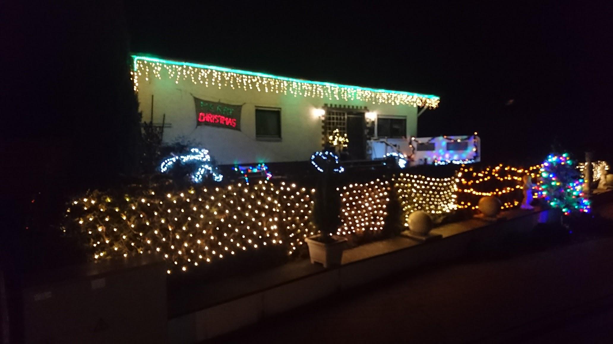 Beleuchtung Weihnachten Plünderbaum Amelunxen