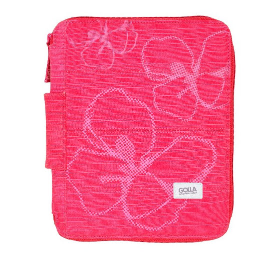 GOLLA Sleeve Inez iPad pink stand cut for iPad 1+2