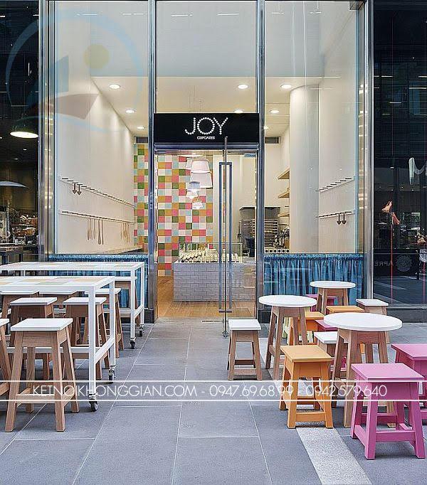 thiết kế cửa hàng bánh ngọt Joy 1