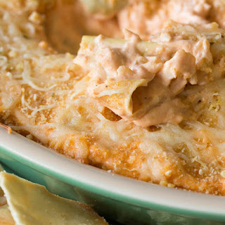 Creamy Rosa Baked Artichoke Dip
