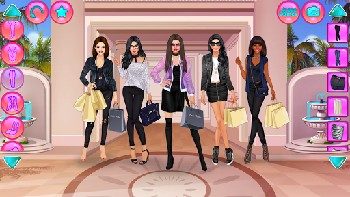 Girl Squad Fashion - BFF Fashionista Dress Up apkpoly screenshots 2
