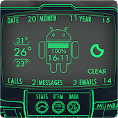 old pipboy 3000 live wallpaper android apps on google play