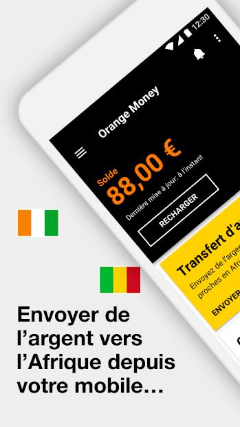 Orange Money France Android App Screenshot