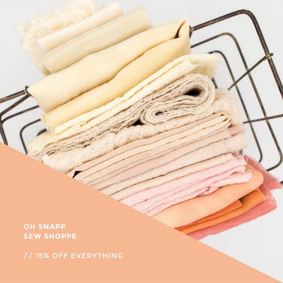 Oh Snap Sew Shoppe - Instagram Post Template