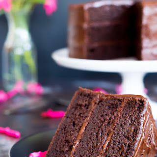Gluten Free Three Layer Chocolate Cake + A Giveaway!