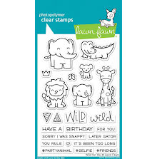Lawn Fawn Clear Stamps 4X6 - Wild For You