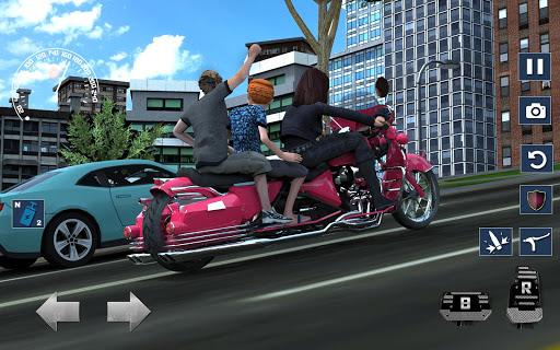 Bus Bike Taxi Driver u2013 Transport Driving Simulator apkdebit screenshots 14