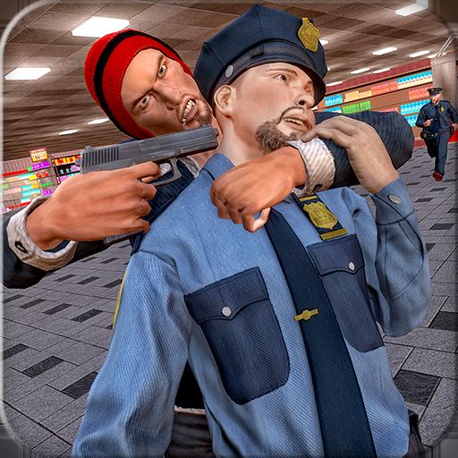 スーパーマーケット強盗犯罪3D 動作 App LOGO-硬是要APP