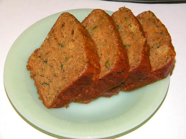 Zucchini & Crushed Pineapple Bread Recipe