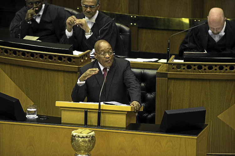 President Jacob Zuma said the ANC was a party which was backed by both the ancestors and God.