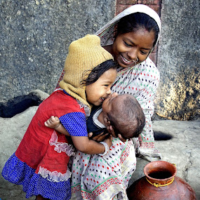 TRIO by Debashis Mukherjee - People Portraits of Women (  )