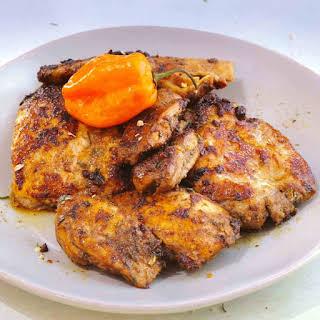 Keto Jamaican Jerk Chicken with The Spice House Jerk Seasoning.