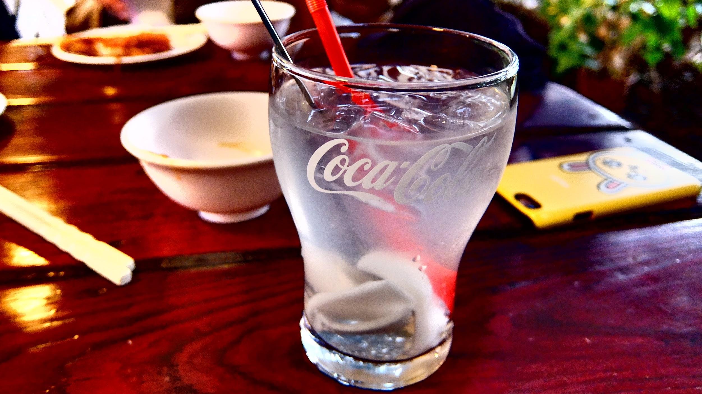 椰子汁! 味道淡了點,不知是否冰塊太多...