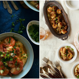 Shrimp and Grits with House of Brinson - adapted from Tyler Florence for the FoodNetwork