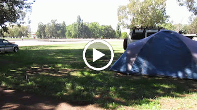 Video: Outside Old Parliament house ; the Aboriginal Tent Embassy - still going strong after all these fruitless years