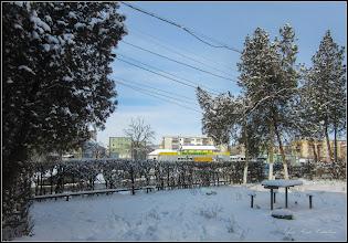 Photo: Turda - Str. Rapsodiei, intre blocuri - 2018.02.28