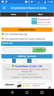 Employment News - Govt Jobs (Sarkari Naukri)   App Report on