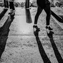 Photo: shadow walk