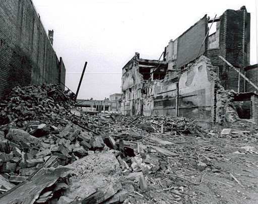 14th Street Northwest 1969 Damages from the 68 Riots