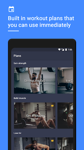Gym Workout Tracker & Planner for Weight Lifting 1.38.0 Screenshots 5