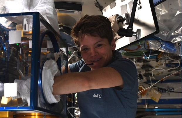 Astronaut Anne McClain is one of two women who are set for a spacewalk on March 29.