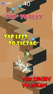 Zombie Tiger ZigZag Jump Run screenshot