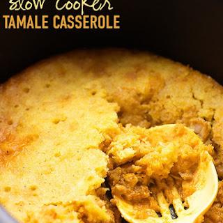 Slow Cooker Chicken Tamale Pie.