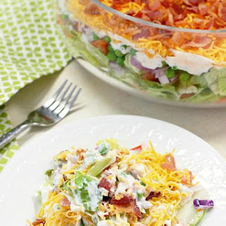 7 Layer Salad.