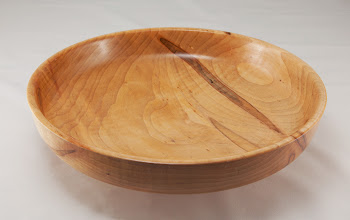 "Photo: Matt Radke 10"" x 2"" bowl [maple]"