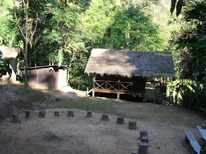Photo: A rustic bungalow near Klong Tron creek, about 1km from the sub station