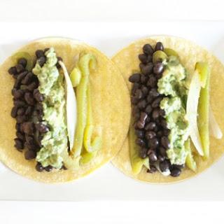 Black Bean Fajita Tacos