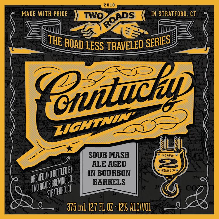 Logo of Two Roads Conntucky Lightnin'