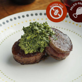 Tournedos with Creamed Spinach