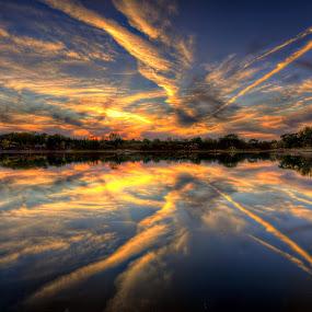 by DE Grabenstein - Landscapes Sunsets & Sunrises ( clouds, sky )