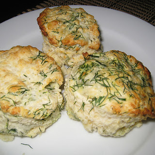 Buttermilk Biscuits with Cheddar and Dill