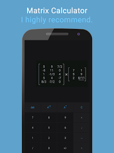 Matrix Calculator- screenshot thumbnail