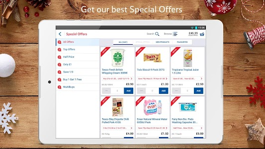 Tesco Groceries : Food Shop screenshot 2