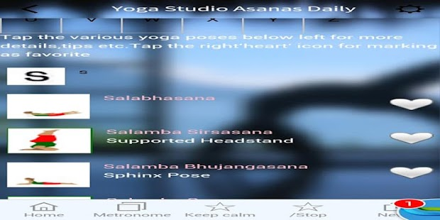 Yoga Asana Stretching Exercise- screenshot thumbnail
