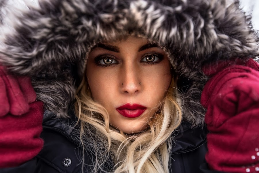Winter  by Justin Prosolow - People Portraits of Women ( #coloradophotographer #teamcanon #fatalframes, #godox #visualofportraits )