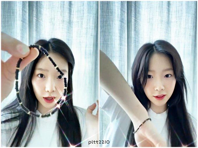 taeyeon bracelet fan 4