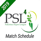 PSL 4 - Match Schedule